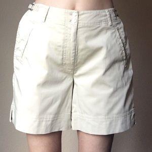 Tommy Bahama high waisted khaki shorts 6